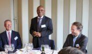 Un « business talk lunch » avec les hommes d'affaires belges