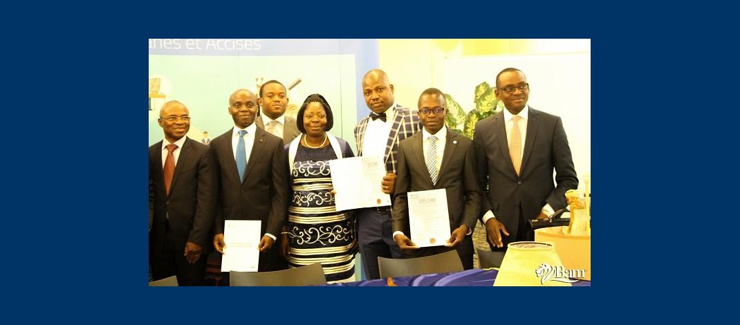Coopération douanière entre la Belgique et cinq pays africains : cérémonie de remise de diplômes aux lauréats à Bruxelles